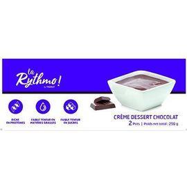 La rythmo crème dessert chocolat 2 pots - ysonut -221745