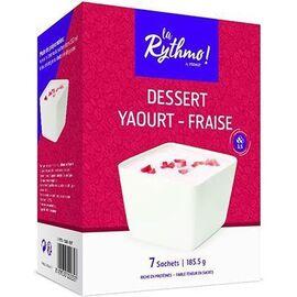 La rythmo dessert yaourt fraise 7 sachets - ysonut -221746