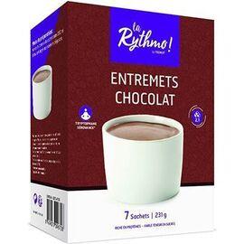 La rythmo entremets chocolat 7 sachets - ysonut -221735