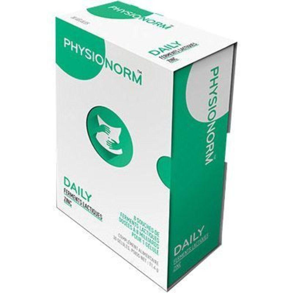 LABORATOIRE IMMUBIO Physionorm Daily 30 gélules - Laboratoire Immubio -219145