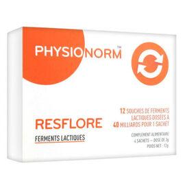 Laboratoire immubio physionorm resflore 4 sachets - laboratoire immubio -219150