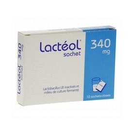 Lacteol 340mg - 10 sachets - 800.0 mg - aptalis pharma -194103
