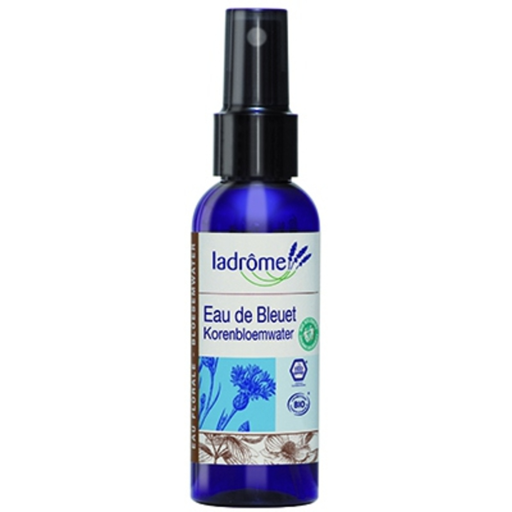 Ladrome bio eau florale de bleuet 200ml - 200.0 ml - eaux florales - ladrôme Désinfecte, nettoie et purifie.-7779