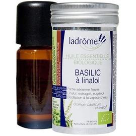 Ladrome bio huile essentielle de basilic - 10.0 ml - huiles essentielles - ladrôme -7639