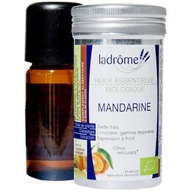 Ladrome bio huile essentielle de mandarine - 10.0 ml - huiles essentielles - ladrôme -7665