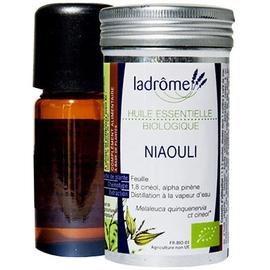 Ladrome bio huile essentielle de niaouli - 10.0 ml - huiles essentielles - ladrôme -7669