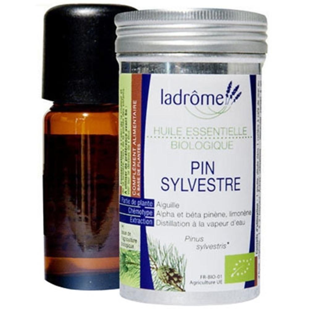 Ladrome bio huile essentielle de pin sylvestre - 10.0 ml - huiles essentielles - ladrôme -111850