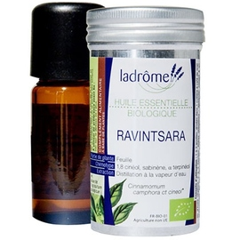 Ladrome bio huile essentielle de ravintsara - 10.0 ml - huiles essentielles - ladrôme -7676