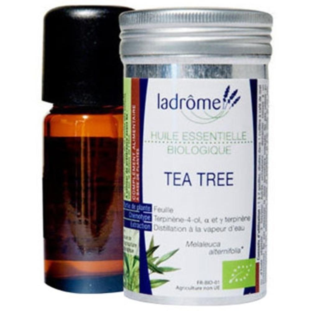 Ladrome bio huile essentielle de tea tree - 10.0 ml - huiles essentielles - ladrôme -7680