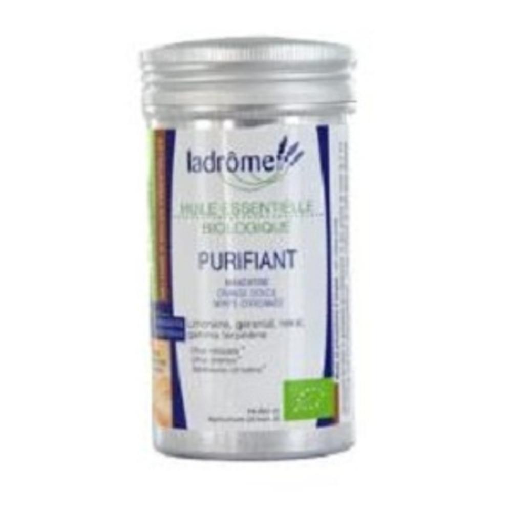 Ladrome bio mélange purifiant - 10.0 ml - huiles essentielles - ladrôme -7688