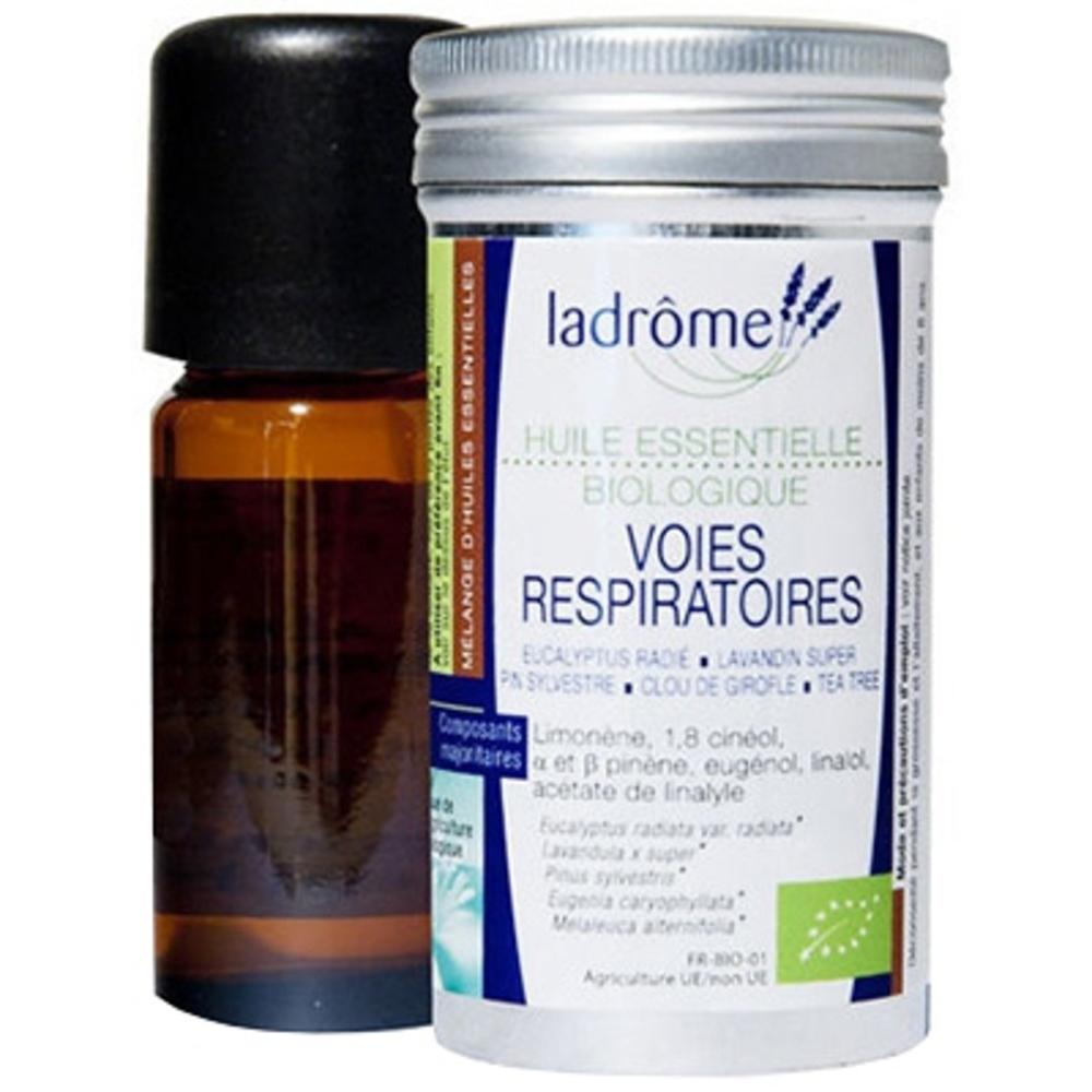 Ladrome bio mélange voies respiratoires - 10.0 ml - huiles essentielles - ladrôme -7692