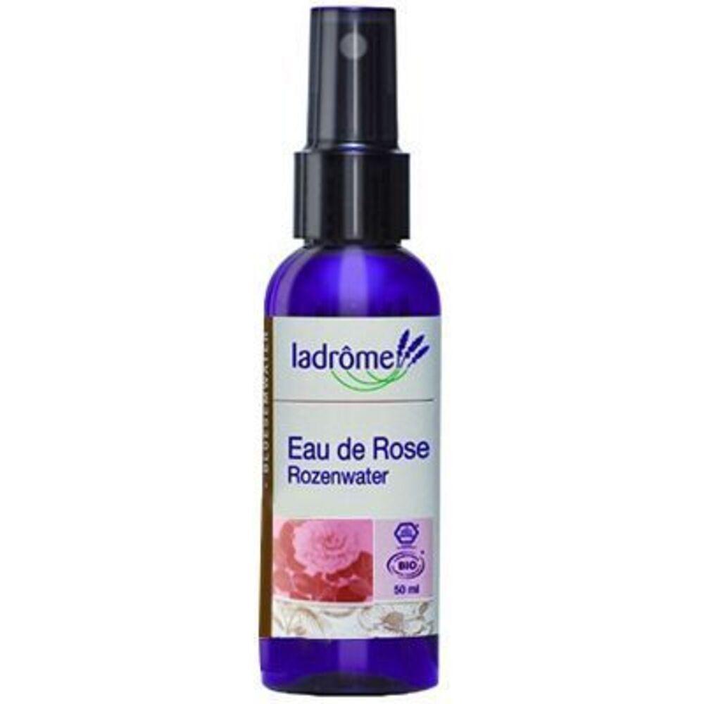 Ladrome eau de rose bio 50ml - 60.0 ml - eaux florales - ladrôme -140564