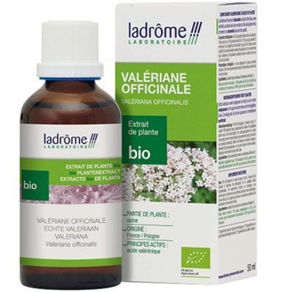 Ladrome extrait de plante bio valériane officinale 50ml - 50.0 ml - extraits de plantes fraîches - ladrôme Détente-7852