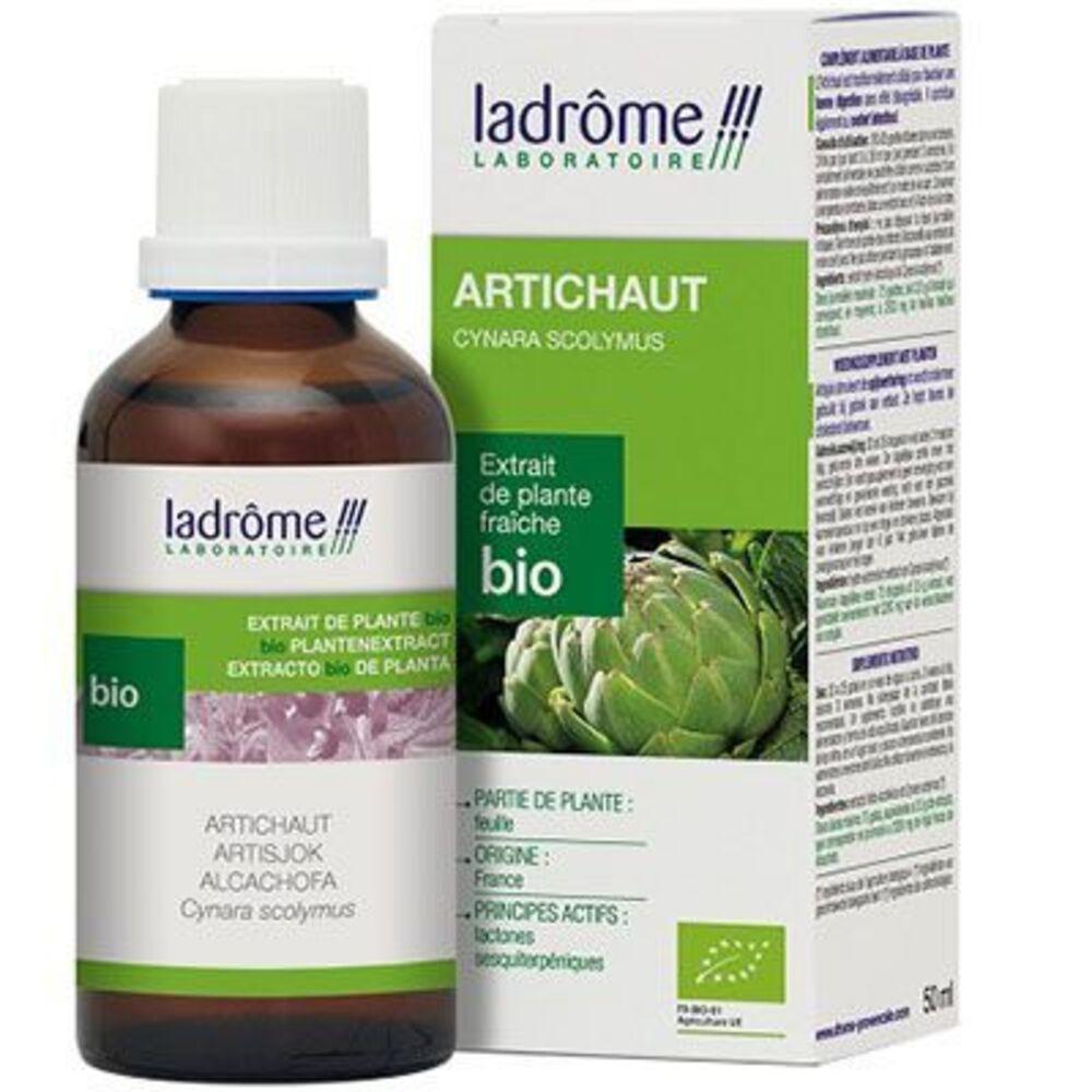 Ladrome extrait de plante fraîche bio artichaut 50ml - 50.0 ml - extraits de plantes fraîches - ladrôme Digestion-7817