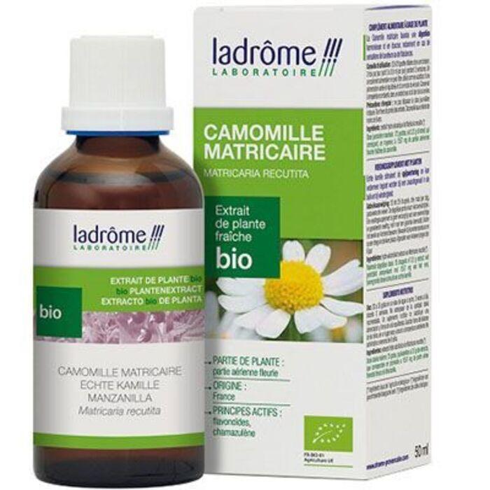 Ladrome extrait de plante fraîche bio camomille matricaire Ladrôme-7834