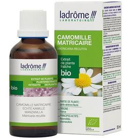 Ladrome extrait de plante fraîche bio camomille matricaire 50ml - 50.0 ml - extraits de plantes fraîches - ladrôme Digestion-7834