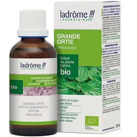 Ladrome extrait de plante fraîche bio grande ortie 50ml - 50.0 ml - extraits de plantes fraîches - ladrôme Elimination-7839