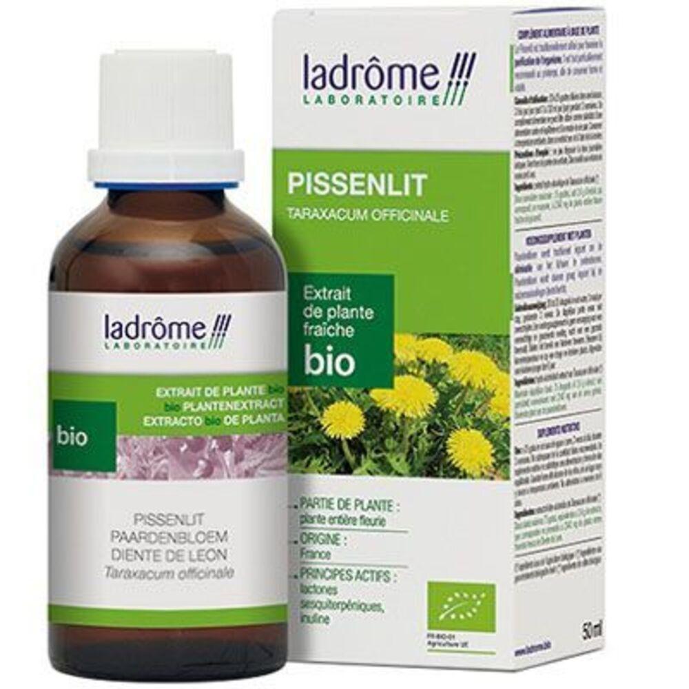 LADROME Extrait de Plante Fraîche Bio Pissenlit 50ml - 50.0 ml - Extraits de Plantes Fraîches - Ladrôme Elimination-7843