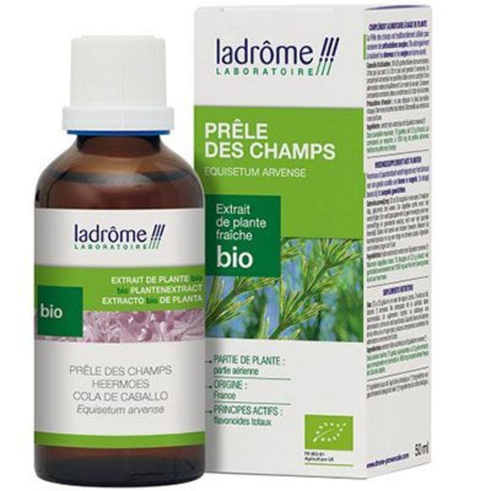 LADROME Extrait de Plante Fraîche Bio Prêle des Champs - 50.0 ml - Extraits de Plantes Fraîches - Ladrôme Articulation-7844