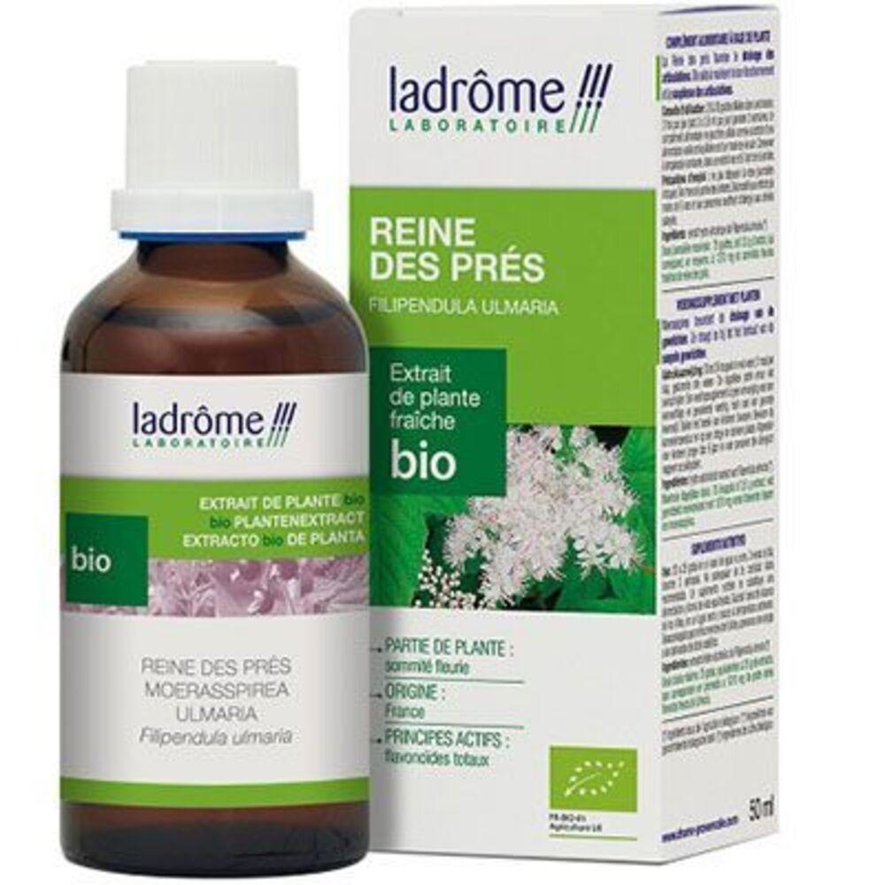 Ladrome extrait de plante fraîche bio reine des prés 50ml - 50.0 ml - extraits de plantes fraîches - ladrôme Articulation-7846
