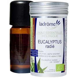 Ladrome huile essentielle d'eucalyptus radié - 10.0 ml - huiles essentielles - ladrôme -7654
