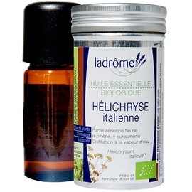 Ladrome huile essentielle d'hélichryse italienne - 5.0 ml - huiles essentielles - ladrôme -7659