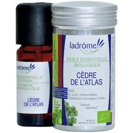 Ladrome huile essentielle de cèdre de l'atlas - 10.0 ml - huiles essentielles - ladrôme -136651