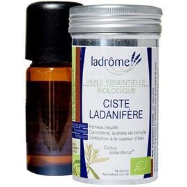 Ladrome huile essentielle de ciste ladanifère - 10.0 ml - huiles essentielles - ladrôme -7645
