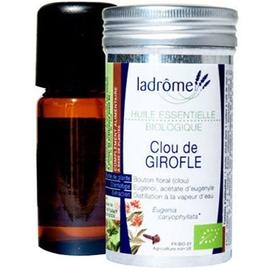Ladrome huile essentielle de clou de girofle - 10.0 ml - huiles essentielles - ladrôme -7648