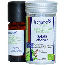 Ladrome huile essentielle sauge officinale - 10.0 ml - huiles essentielles - ladrôme -142856
