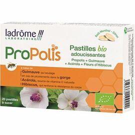 Ladrome propolis 20 pastilles bio adoucissantes - ladrôme -215399