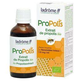 Ladrome propolis extrait de plante fraîche bio propolis - 50.0 ml - propolis - ladrôme -7757