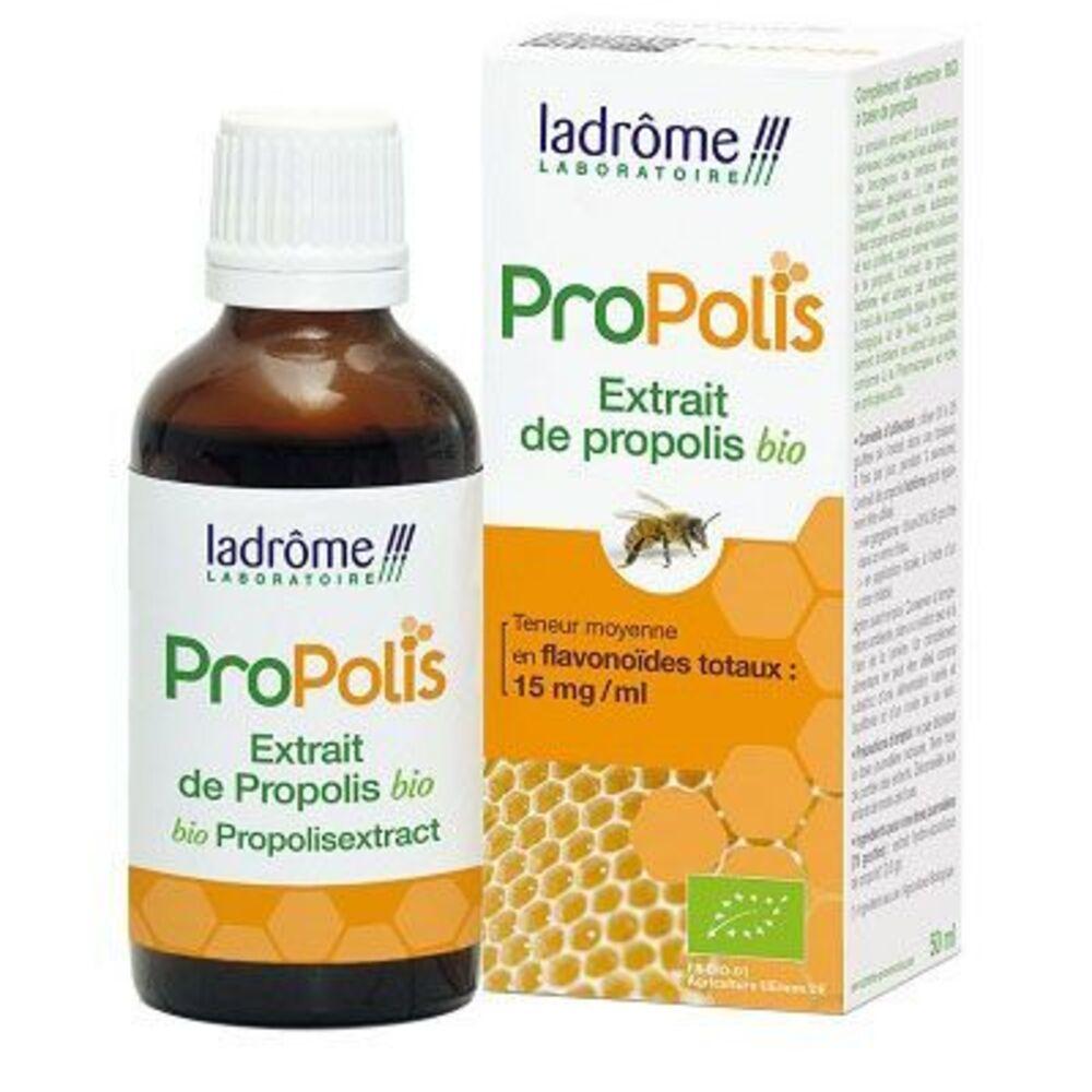 Ladrome propolis extrait de plante fraîche bio propolis 50ml - 50.0 ml - propolis - ladrôme -7757
