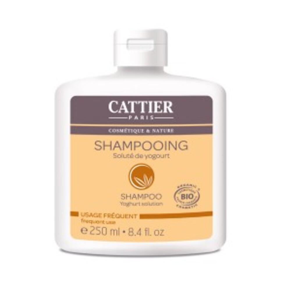 Lait au soluté de yogourt bio - 250.0 ml - shampooings - cattier Usage fréquent-1515