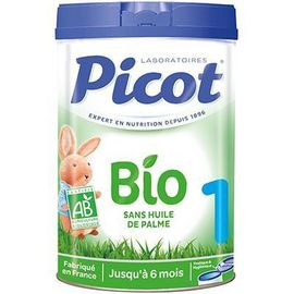 Lait bio 0-6mois 800g - picot -225588