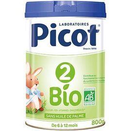 Lait bio 6-12mois 800g - picot -225589