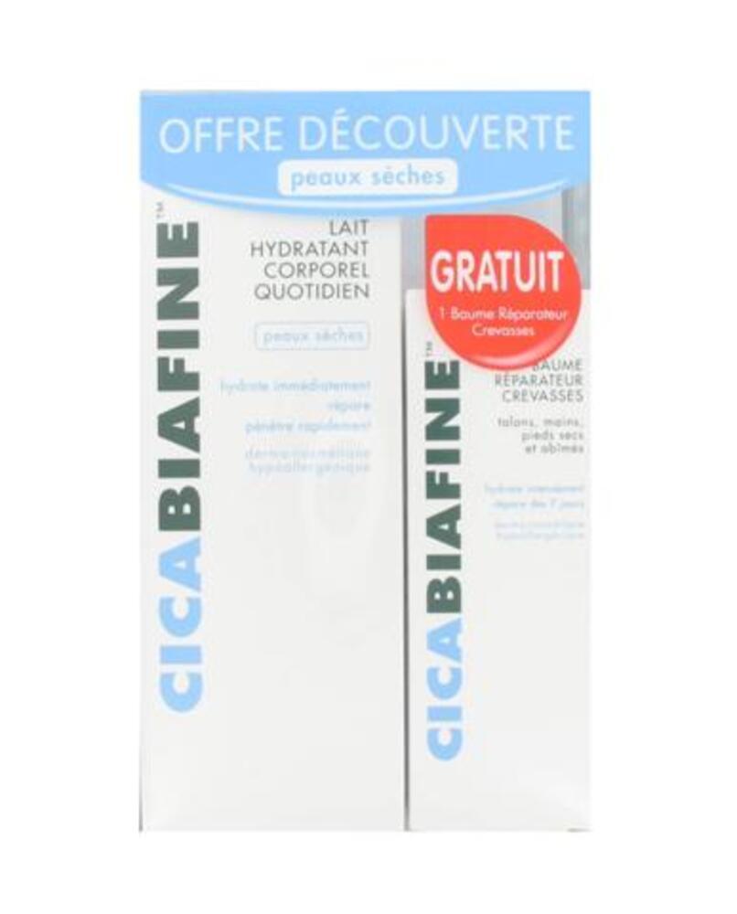 Lait Corporel + 1 Baume crevasses offert - 200.0 ml - Dermo-cosmétique - Cicabiafine -9648