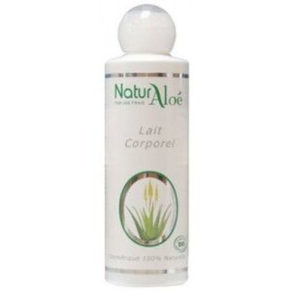 Lait corporel bio - 200.0 ml - cosmétique bio à l'aloé vera - naturaloe -13544