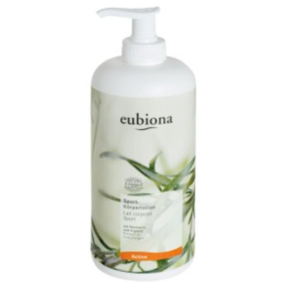 Lait corporel romarin et huile d'argan bio - 500.0 ml - active sport bio - eubiona -14469