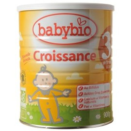 Lait de croissance - 900.0 g - lait et aliments infantiles - babybio Dès 10 mois-122679
