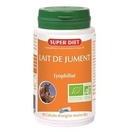 Lait de jument bio - 90.0 unites - les gélules de plantes bio - super diet Vitalité-4498