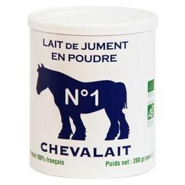 Lait de jument en poudre bio - 280.0 g - lait de jument en poudre - chevalait -113937