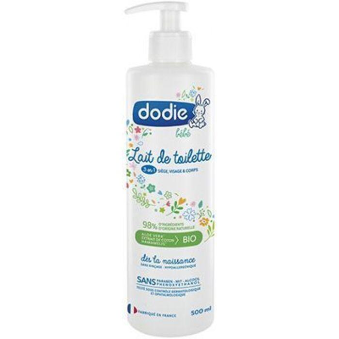 Lait de toilette 3en1 500ml Dodie-220710