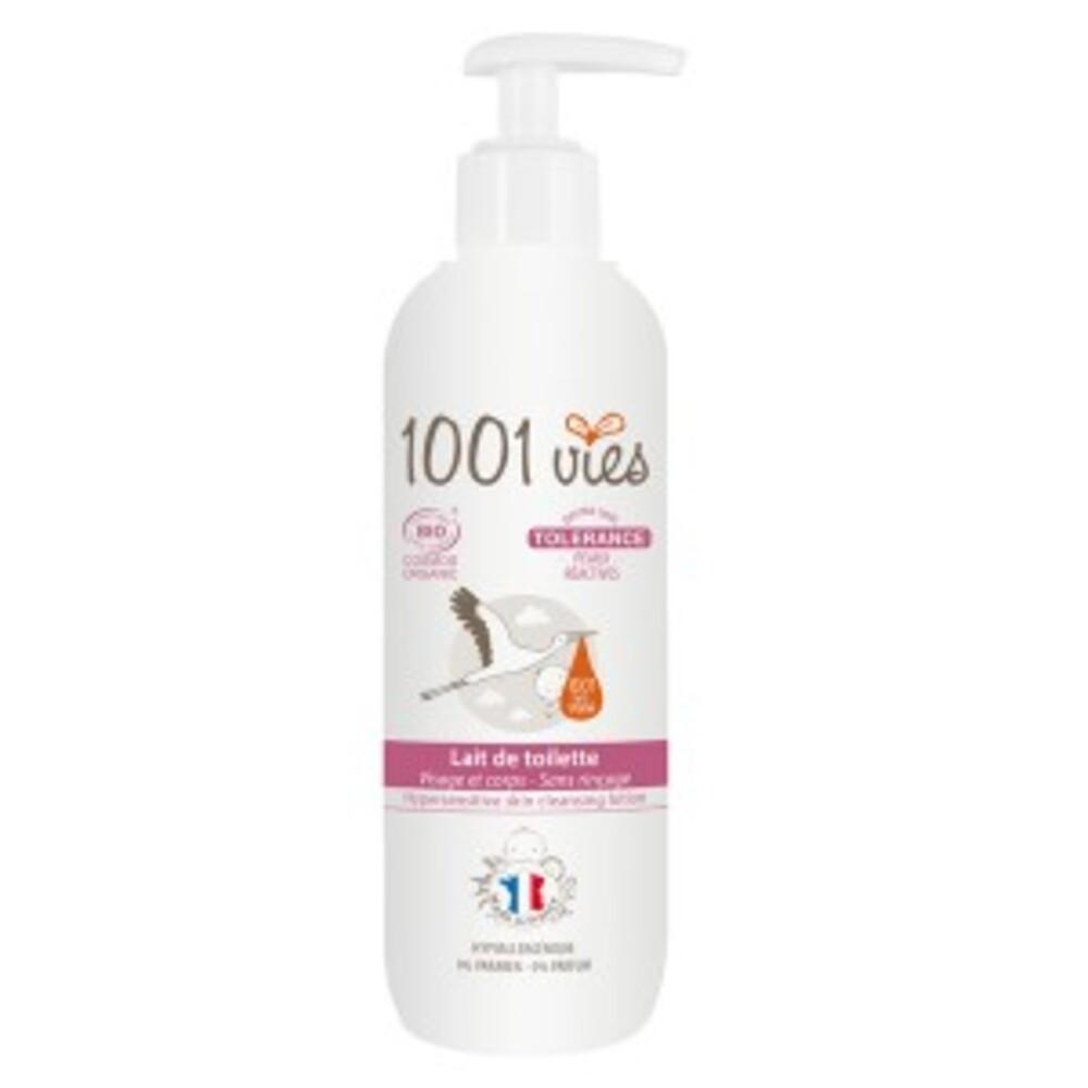 Lait de toilette bio, tolérance - 200 ml - divers - 1001 vies -188653