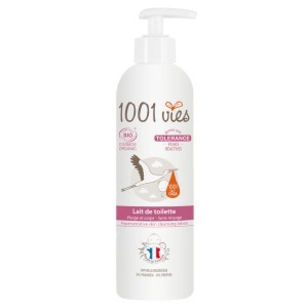 Lait de toilette bio, tolérance - 400 ml - divers - 1001 vies -188652