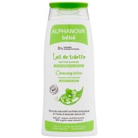 Lait de toilette naturel - 200.0 ml - alphanova bébé - alphanova -111962