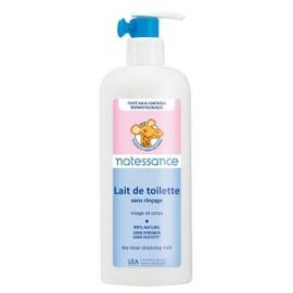 Lait de toilette sans rinçage - 400.0 ml - bébé naturel - natessance -140633