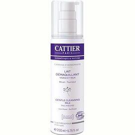 Lait démaquillant douceur caresse d'herboriste bio - 200.0 ml - visage - cattier Elimine maquillage et impuretés-1566