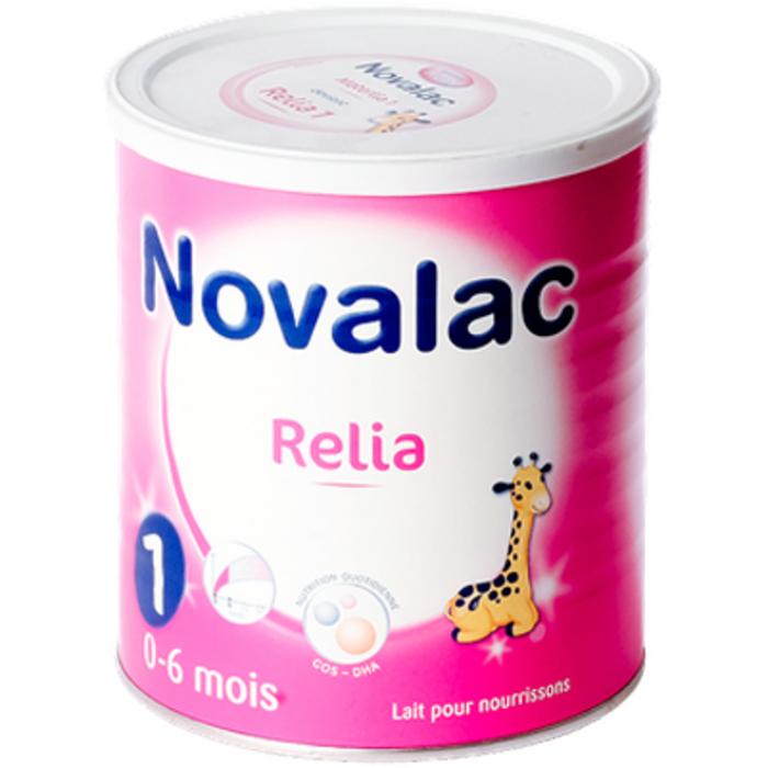 Lait en poudre relia 1 - 0-6 mois 800g Novalac-149804