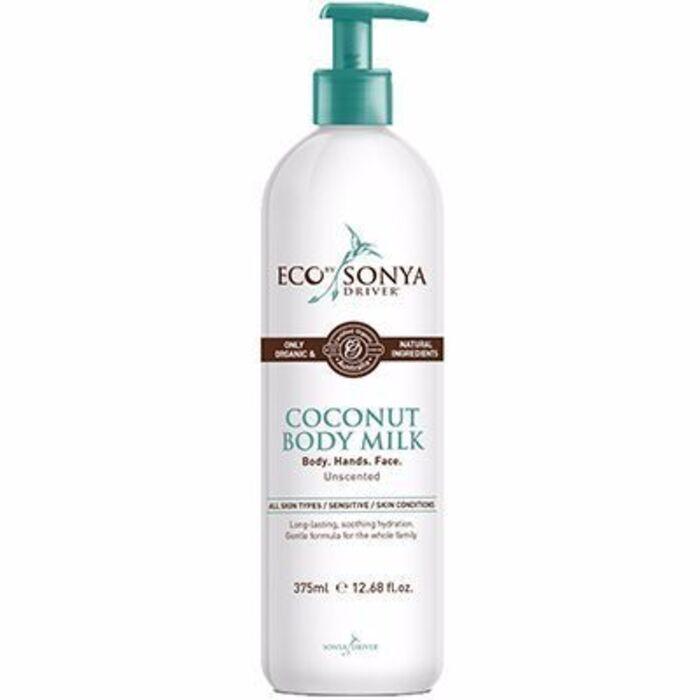 Lait hydratant corps noix de coco 375ml Eco by sonya-215165